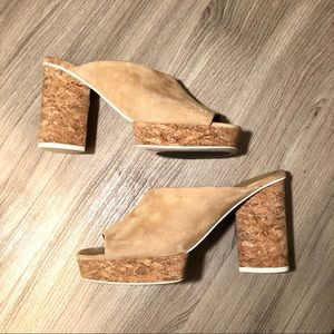 MERCEDES CASTILLO Shoes - Mercedes Castillo Chiara Suede Heeled Mules